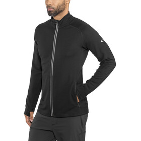 Icebreaker Quantum LS Zip Jacket Men Black